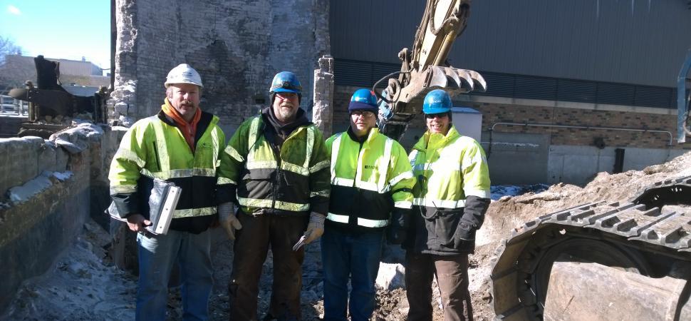 Water Treatment Plant Demolition : Metropolitan wwtp pigs eye f i demolition rachel