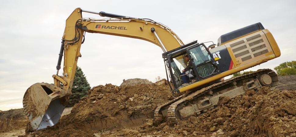 Earthwork Construction Management : Earthwork rachel contracting